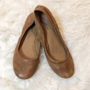 Lucky Brand Light Brown Emmie Ballet Flats